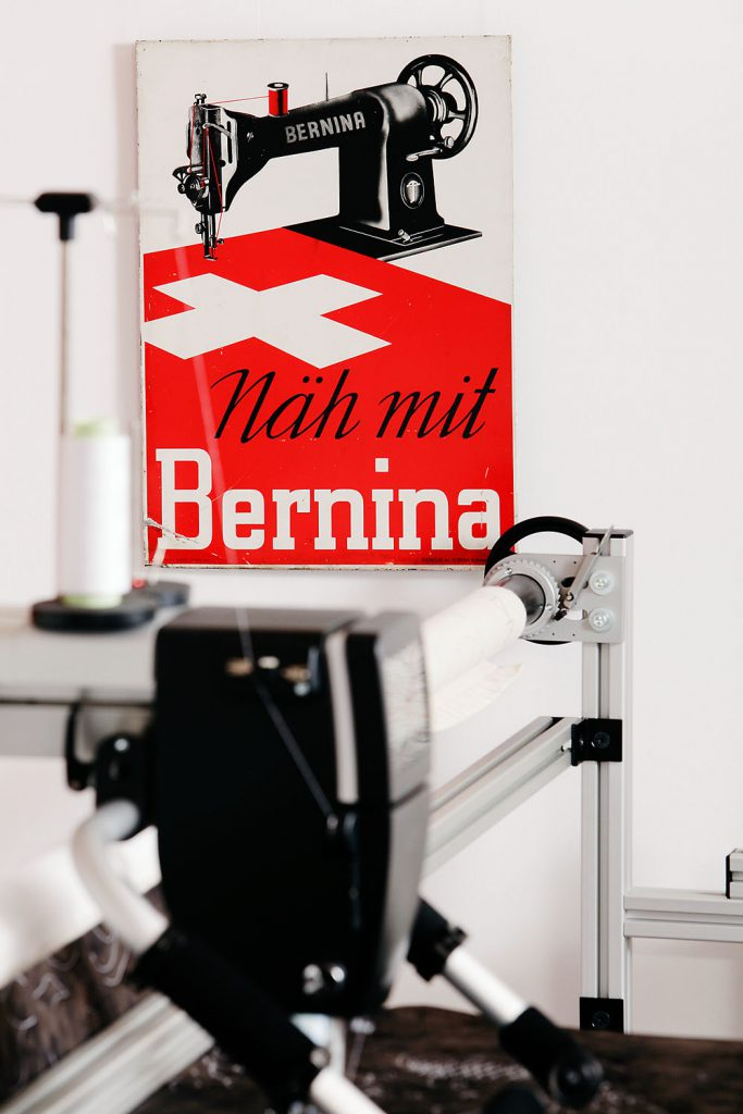 Bernina Longarm Quiltmaschinen Regina Klaus Bernina Longarm